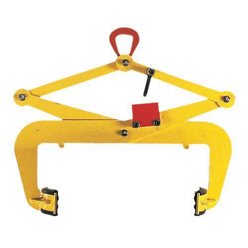 Pinça automática para bidões metálicos – Preensão vertical – Capacidade de carga de 300kg