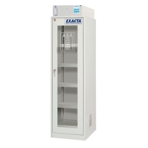 Armário de segurança com filtração molecular - 125 L