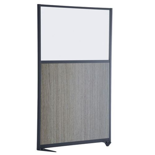 Divisória de separação moderna - Painel semiquadro magnético - Altura 170 cm
