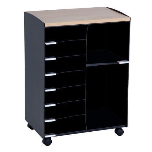 Móvel de apoio com compartimentos - 9 compartimentos - Paperflow
