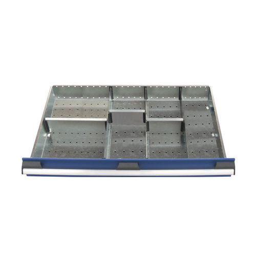 Lote de separadores para as gavetas do armário Bott SL-85 - Altura 5 cm