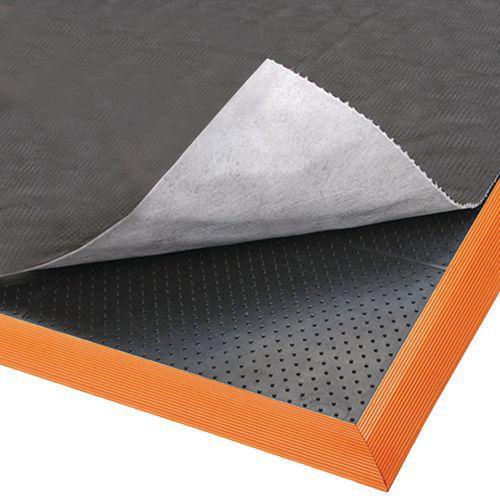 Esteira antifadiga projetada para uso com absorventes