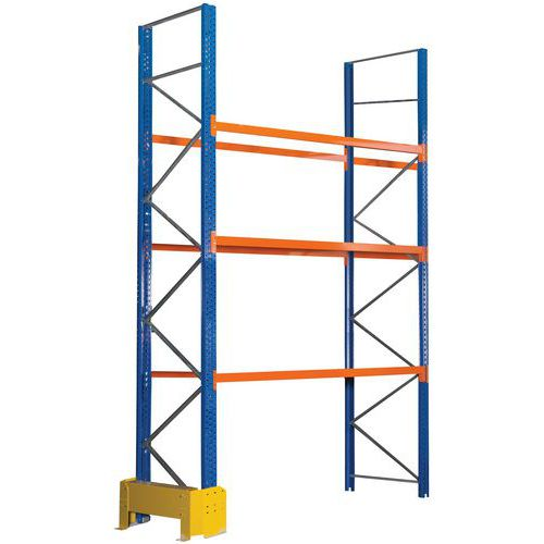 Estante para paletes Easy-Rack – acabamento em epóxi - Manorga