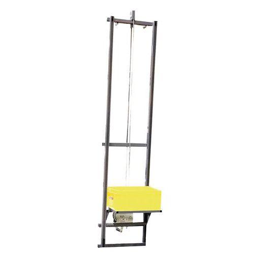 Monta-cargas para plataforma de estante com 7 degraus – Fimm