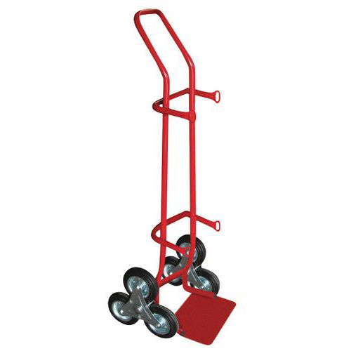 Transportador porta-garrafas – 200kg – Roda em borracha