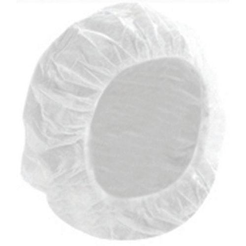 Touca de trabalho descartável branca – caixa de 100