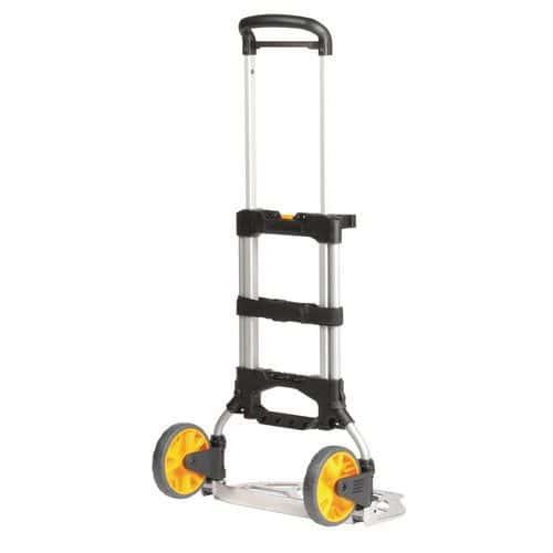 Porta-cargas dobrável em alumínio com opção - Capacidade de 150kg