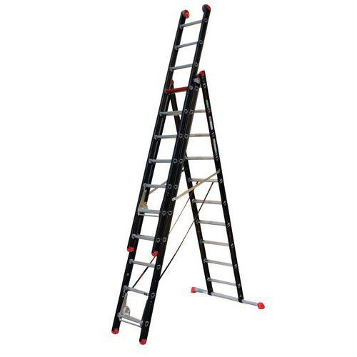 Escada transformável de 3 secções Mounter