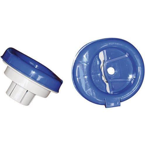 Encaixe do desenrolador para bobina de filme estirável manual