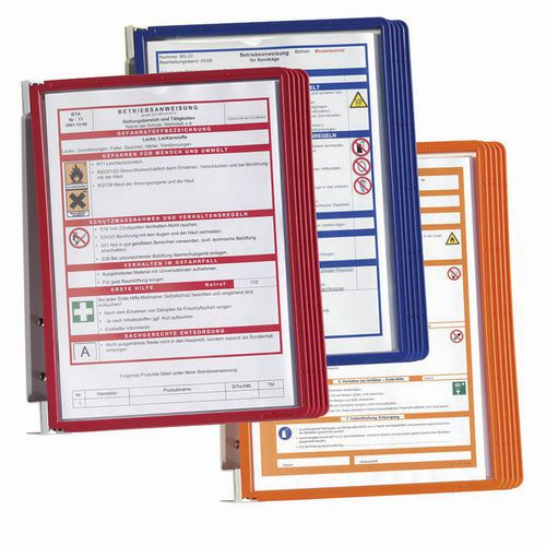 Porta documentos de parede Vario – 5 bolsas – A4