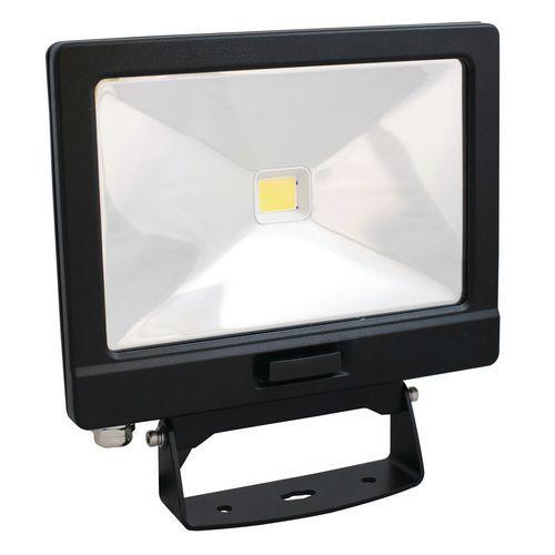 Foco LED 30W, 2400lm, branco frio + detetor e telecomando