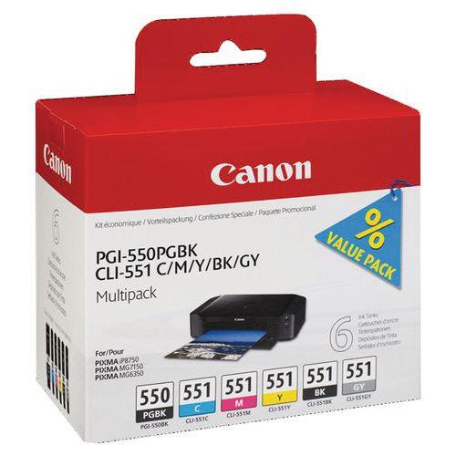 Cartucho de tinta - PGI-550/CLI-551 - Canon