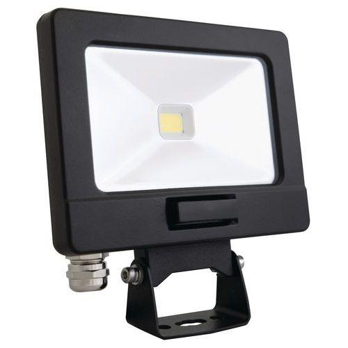 Foco LED 10W, 800lm, branco frio + detetor e telecomando