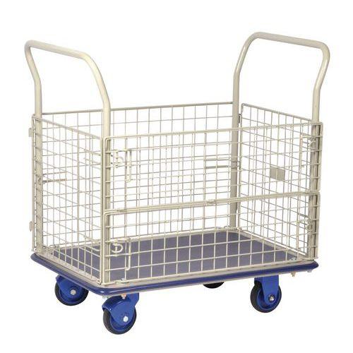 Carro gradeado - Capacidade 300 kg