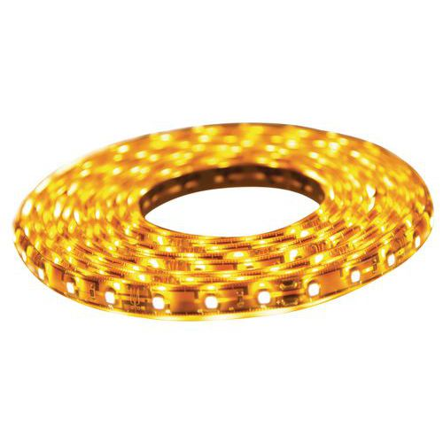 Rolo LED strip branco quente, 150 LED SMD 3014 - 2.5 m