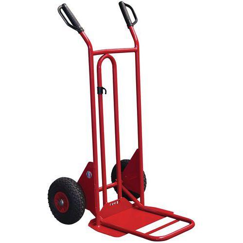 Porta-cargas com espaldar curvo - Capacidade 250 kg
