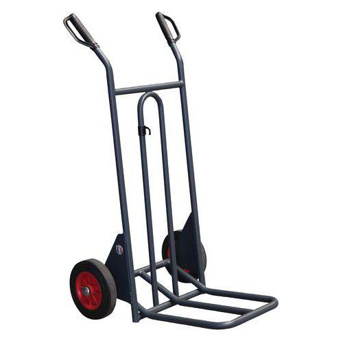 Porta-cargas aço - Rodas borracha - Capacidade 350 kg