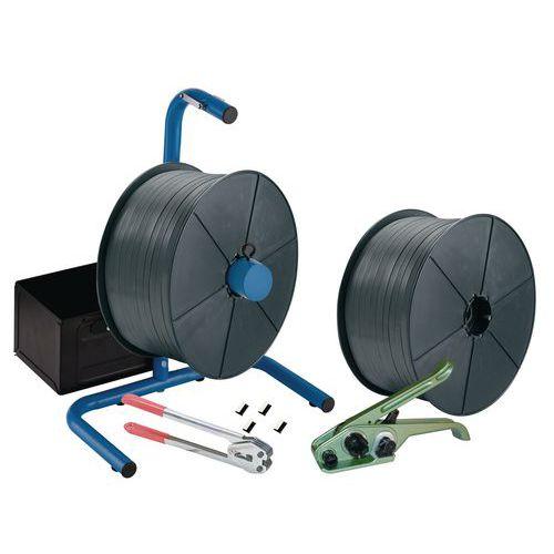 Kit de cintagem portátil - fita de polipropileno - conjunto de 2