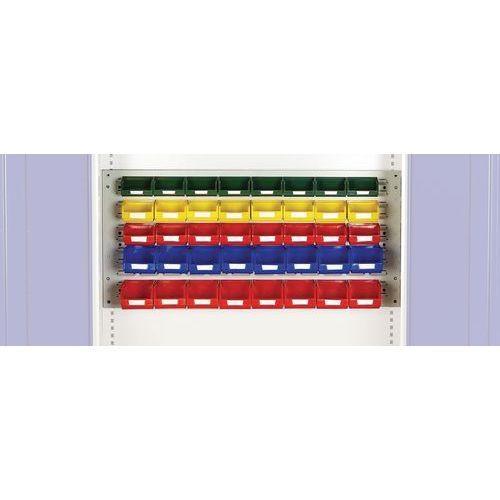 Kit de 40 caixas para mini armário de oficina