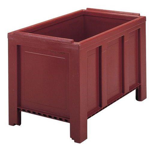 Caixa-palete empilhável Jumbox® - Com pés