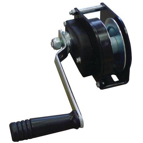Guincho de reboque e elevação com autobloqueio - Aço - Capacidade 80 a 490 kg