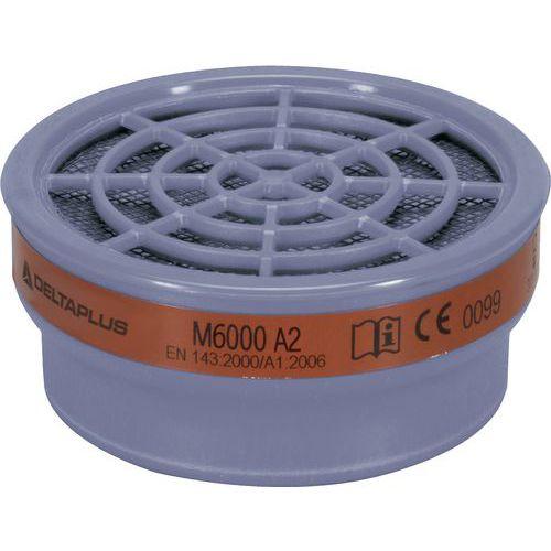 Kit de 2 filtros a2 para meia-máscara m6200 jupiter e m6400 jupiter