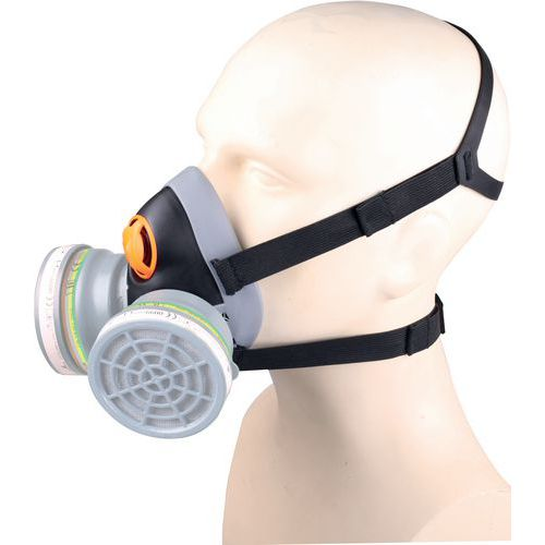 Semi-máscara nua em pp - sobre moldagem termoplástico