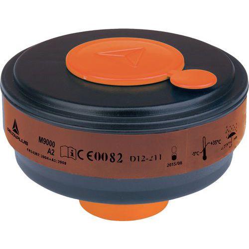 Caixa de 4 filtros a gás a2