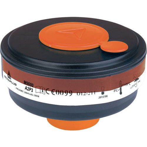 Caixa de 4 filtros a gás a2p3