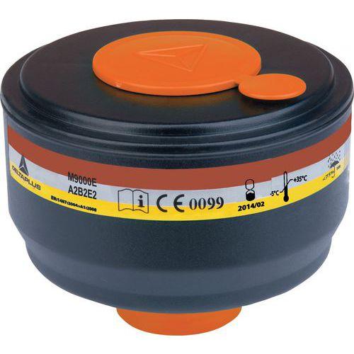 Caixa de 4 filtros a gás a2b2e2