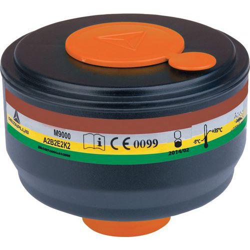 Caixa de 4 filtros a gás a2b2e2k2