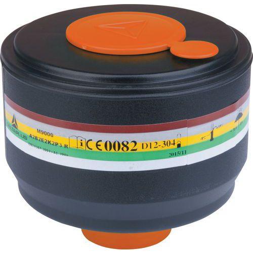 Caixa de 4 filtros a gás a2b2e2k2p3