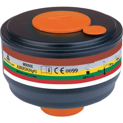Caixa de 4 filtros a gás a2b2e2k2hgp3