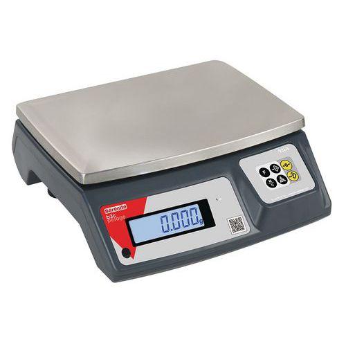 Balança compacta autónoma de alta precisão 9260 - Capacidade de 3 kg a 30 kg