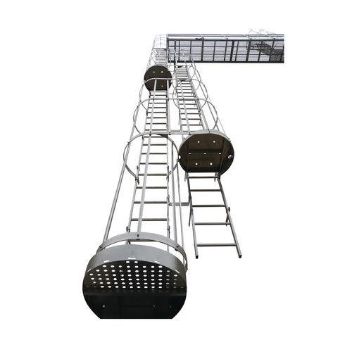 Kit de escada com guarda-corpo – Centaure