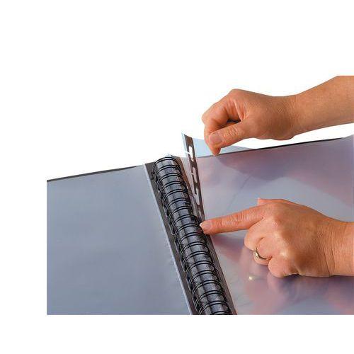 Recarga de bolsas para pasta de proteção de documentos Flexam