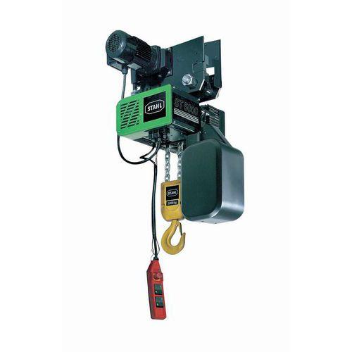 Alimentação trifásica 230V para diferencial com capacidade de carga de 1000 a 5000 kg