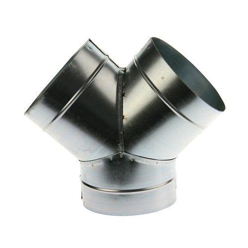 Derivação a 45° para mangas de ventilações rígidas - Ø 80 a 125 mm