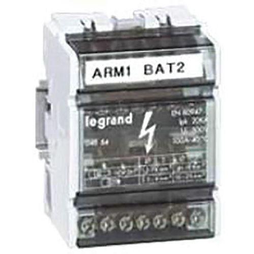Repartidor modular monobloco, 40A, 6 módulos