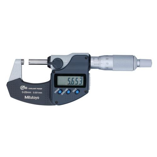 Micrómetro digital 0-25mm IP65