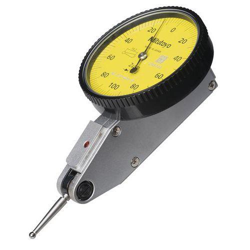 Comparador mecânico 0,2mm, sensor ajustável