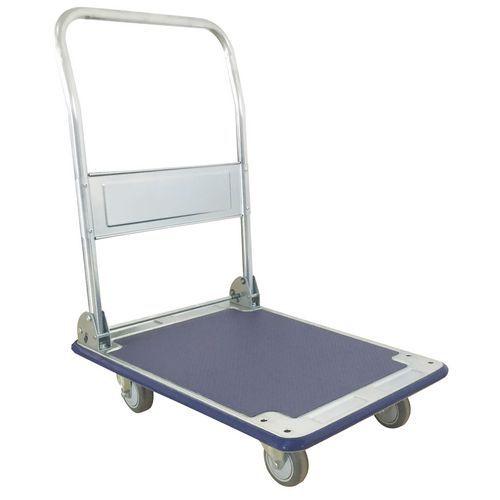 Carro em aço com espaldar rebatível – Capacidade de 200kg – Manutan