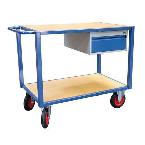 Carro de oficina com 2 plataformas – capacidade de carga de 500kg
