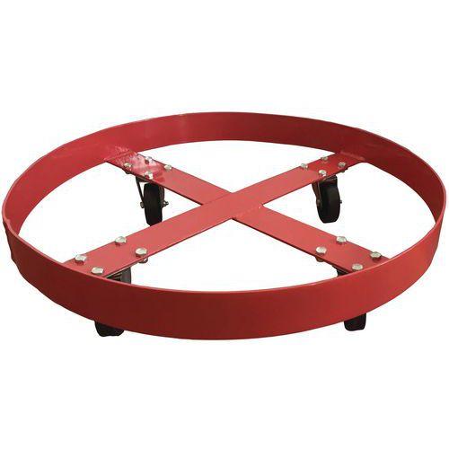 Rolo para bidões - Capacidade de 410 kg