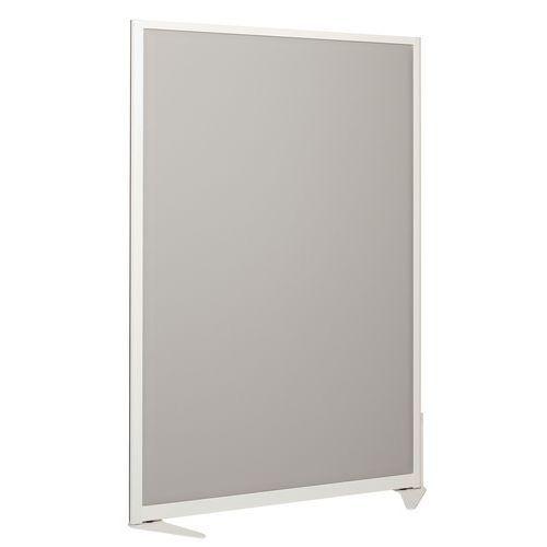 Divisória de separação acústica 170x120 cm - Armação Branca