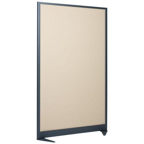 Divisória de separação acústica 170x120 cm - Armação cinzenta