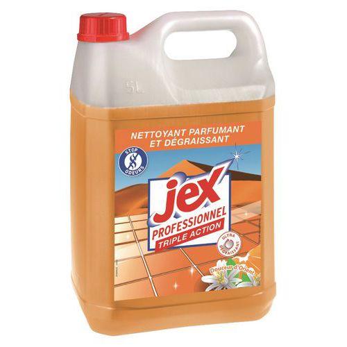 Produto de limpeza desengordurante de ação tripla  Jex Pro - Bidão de 5 L