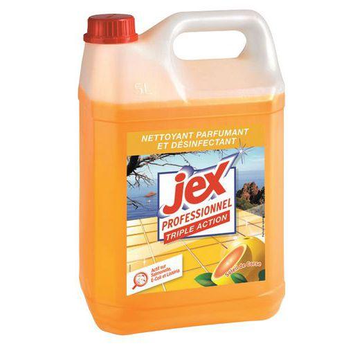 Produto de limpeza  de ação tripla Jex Pro - Bidão de 5L