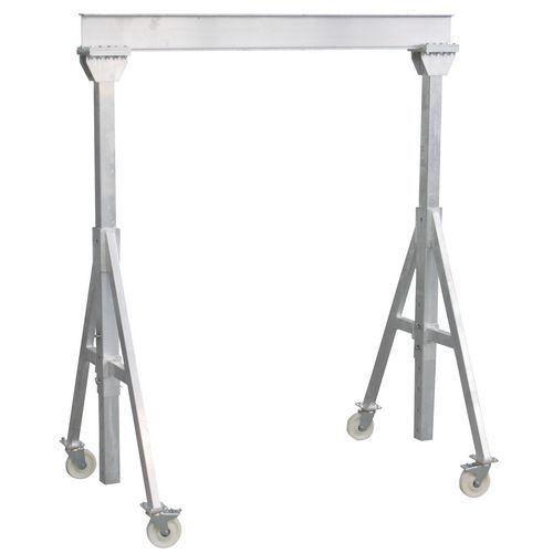 Pórtico em alumínio - Capacidade de 1000 e 1500 kg