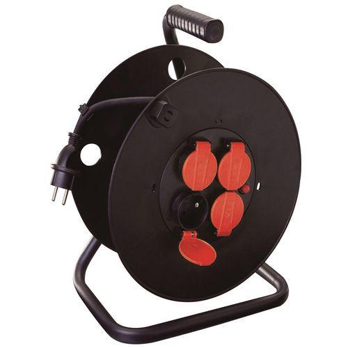 Enrolador de cabo elétrico para estaleiro IP44 GS - Manutan